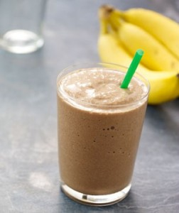 chocolate banana coffee smoothie